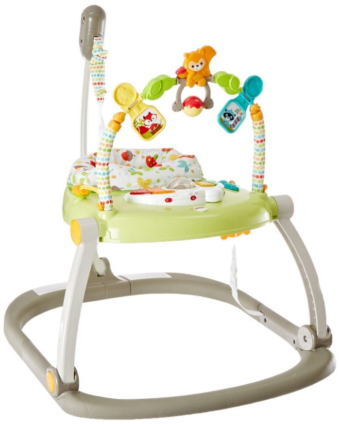 Fisher-Price Jumperoo费雪婴儿跳跳椅玩具 45.99元特卖,原价 79.99元,包邮