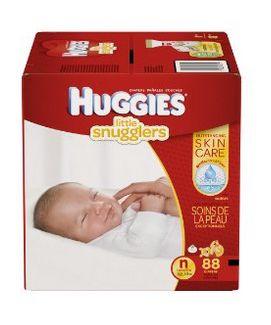 历史新低!Huggies  88片新生儿纸尿裤 19.88元特卖,原价 29.99元