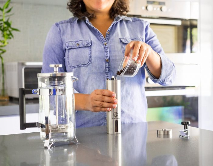 ICE COALS  便携式手动咖啡研磨机 19.95元限量特卖,原价 22.95元
