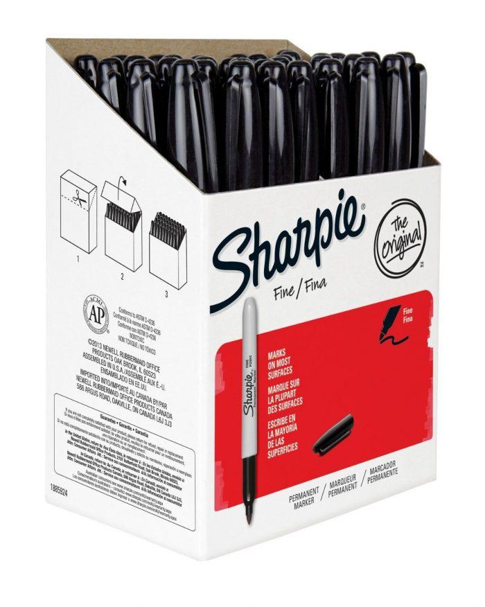 历史新低!Sharpie 36支永久记号马克笔 26.46元特卖,原价 50.94元,包邮