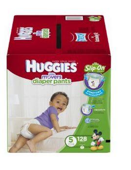 Huggies 好奇 5号纸尿裤 128片装 36.44元特卖,原价 49.99元,包邮