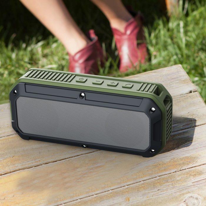 Aukey 蓝牙4.0 便携式无线音箱 22.39元,原价 35.99元,包邮