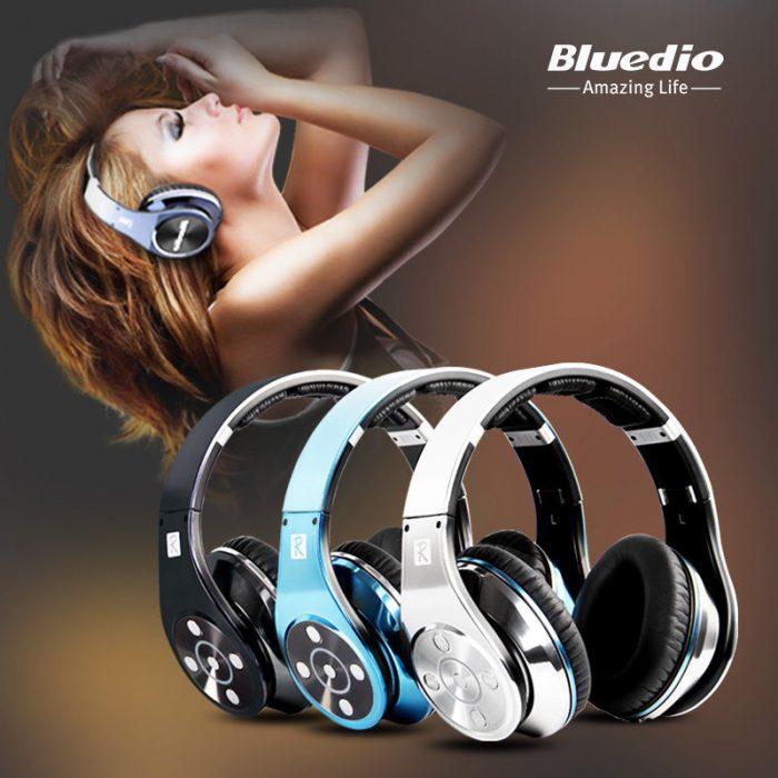 Bluedio R+Legend系列无线蓝牙头戴式耳机 79.99元限量特卖(3色可选),原价 99.99元,包邮