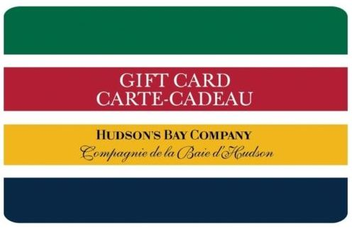 Ebay.ca网店促销,Hudson's Bay 礼品卡满100元立减19元!