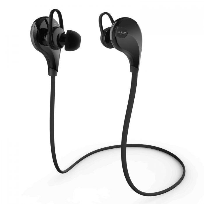 Aukey EP-B13 蓝牙4.1无线立体声运动耳机 17.99元特卖(2色可选),原价 39.99元,包邮