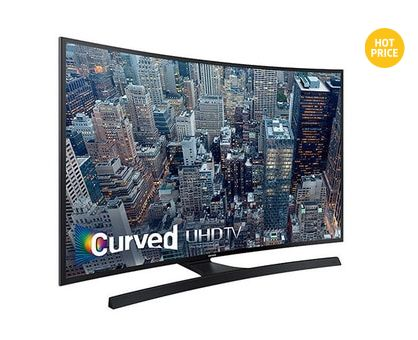 Samsung 三星 UN48JU6700FXZC  4K Curved LED 48英寸曲面高清智能电视 799.99元特卖,原价 1599.99元