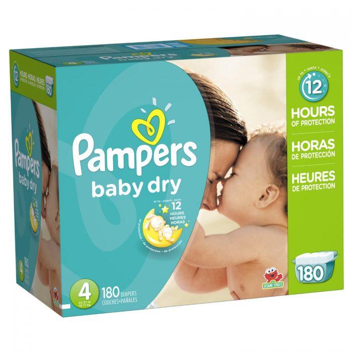 纸尿裤世界第一品牌!精选多款Pampers帮宝适婴幼儿尿不湿/纸尿裤 30.75元特卖,原价 49.99元,包邮