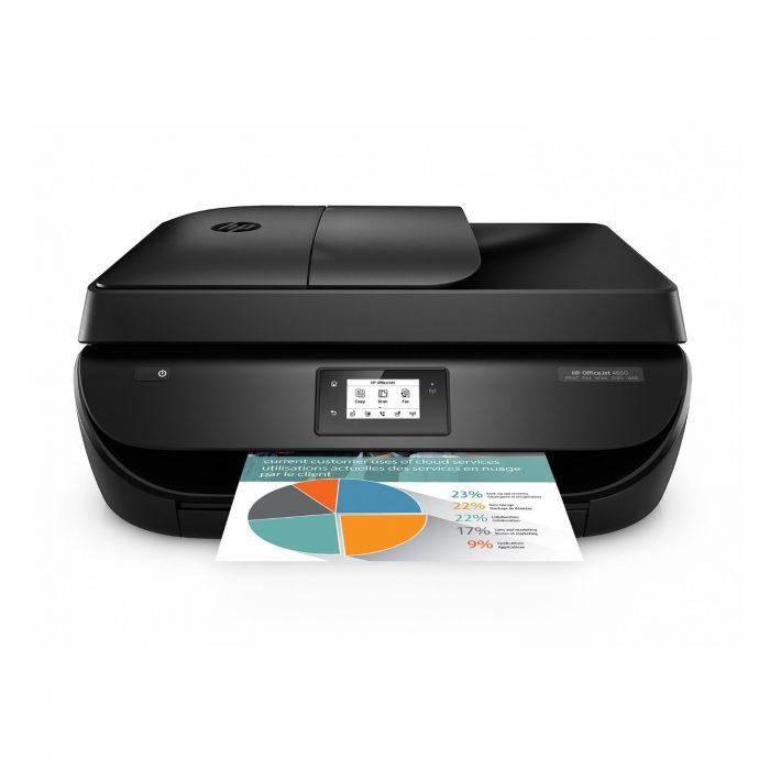 历史新低!HP 惠普 Officejet 4650无线多功能彩色喷墨打印机3.1折 39.94加元包邮!
