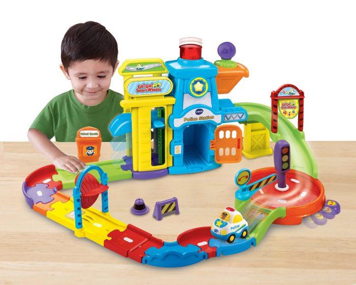 历史新低!VTech Go! Go! 警察局轨道玩具 16.8加元,原价 34.99加元