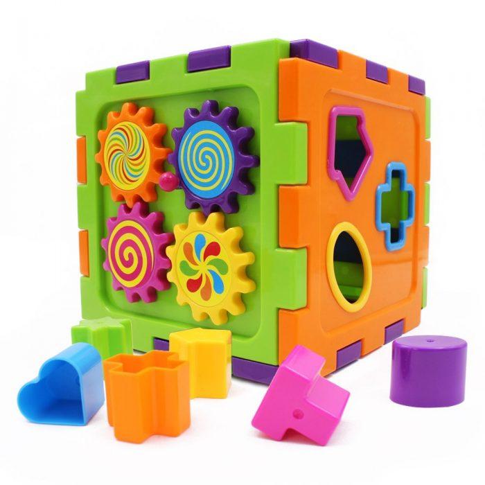 Wishtime 宝宝形状排序立方玩具 16.6加元限量特卖!