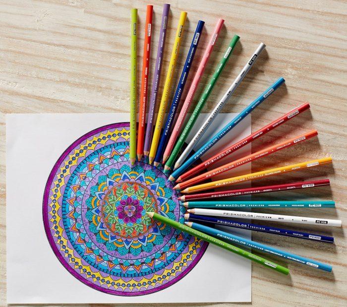 Prismacolor Sanford 3597T  24色专业软芯彩色铅笔 14.99加元,原价 21.72加元