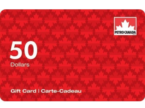 加油卡限时促销!买 2张 Petro-Canada加油卡100元立减19元!