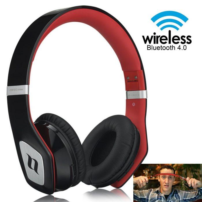Noontec ZORO II蓝牙4.0无线头戴式耳机 158元限量特卖,原价 299.99元,包邮