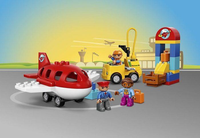 LEGO 乐高 DUPLO 10590 繁忙的机场积木玩具 19.96元特卖,原价 24.99元