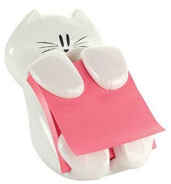 销量第一!Post-it 创意小猫便签夹 11.2元特卖,原价 14.26元