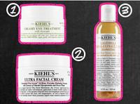 最畅销的Kiehl's 科颜氏高效保湿面霜, 牛油果眼霜和金盏花植物精华化妆水 8折特卖!