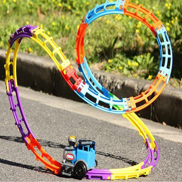 创意无限,想变就变!Happy Time 翻滚列车儿童玩具 29.34元限量特卖,原价 36.68元,包邮