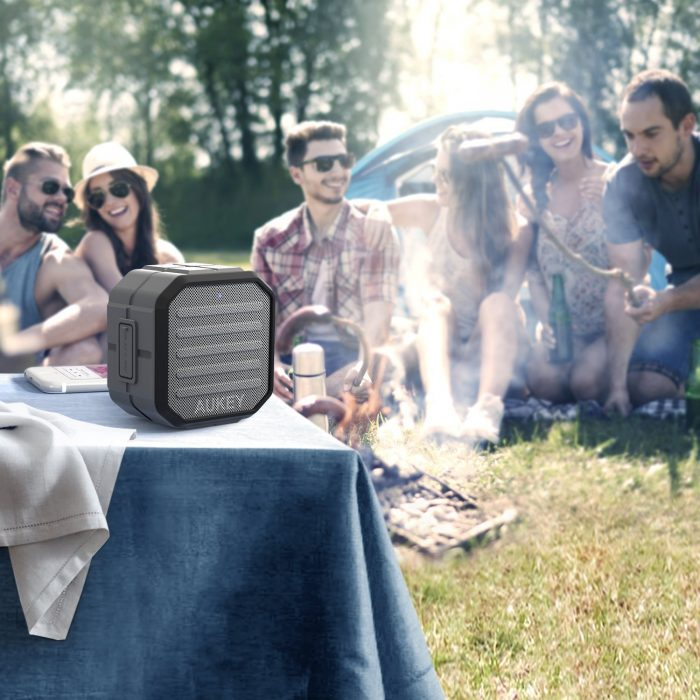 Aukey 便携式无线蓝牙音箱 25.49元限量特卖,原价 29.99元,包邮