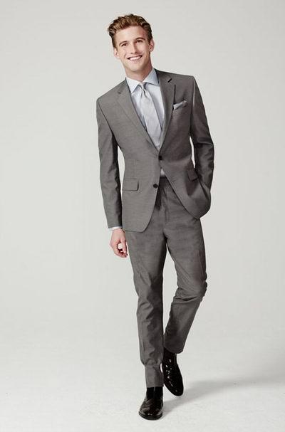 The Bay精选38款 Calvin Klein、Michael Kors、Nautica等品牌纯羊毛西服3折起限时清仓,售价低至148.5元包邮!