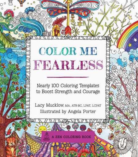 畅销书系列《Color Me Fearless》近百个涂色模板3.1折 6.26元限时清仓!