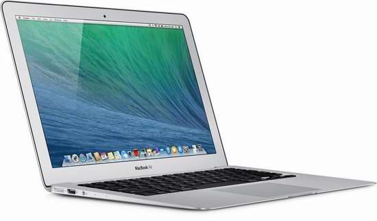 翻新 Apple MacBook Air 13.3英寸超薄笔记本电脑 674.99元特卖,原价 1399元,包邮