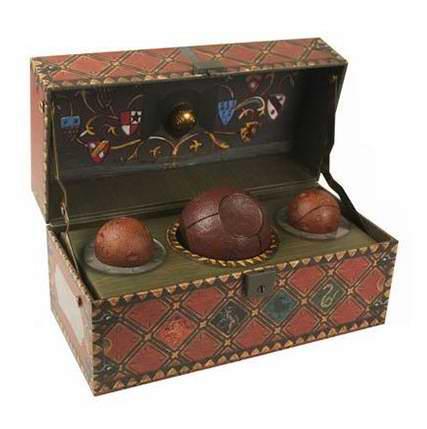 哈迷必败!Harry Potter 哈利波特 Collectible Quidditch 魁地奇收藏礼盒装6折 23.46元限时特卖!