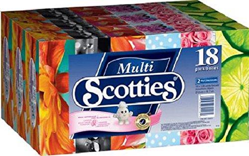 Scotties 双层面巾纸18盒超值装4.2折 14.97元限时特卖!