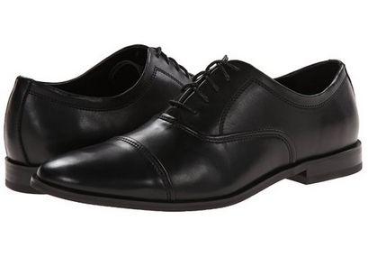Calvin Klein Nino 男式真皮休闲牛津鞋2.5折 44.42元起清仓并包邮!三色可选!
