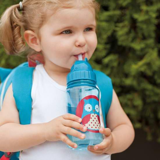精选13款 Skip Hop 动物图案吸管水杯 7.99加元限时特卖!