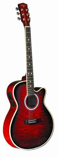 历史最低价!INDIANA MAD-QTRD 原声电木吉他3.2折 98.28元限时特卖并包邮!