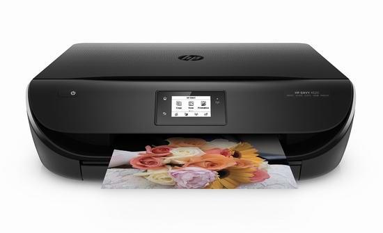 历史最低价!HP 惠普 Envy 4520 无线多功能一体彩色喷墨打印机4折 39.91加元包邮!