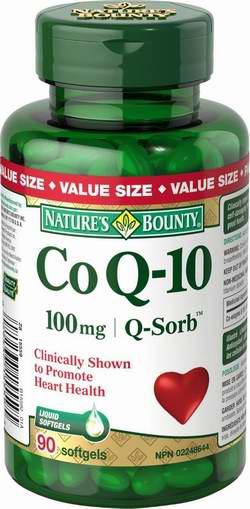历史新低!Nature's Bounty 自然之宝 辅酶 CoQ10 100mg 胶囊90粒装5折 13.04-13.73加元!