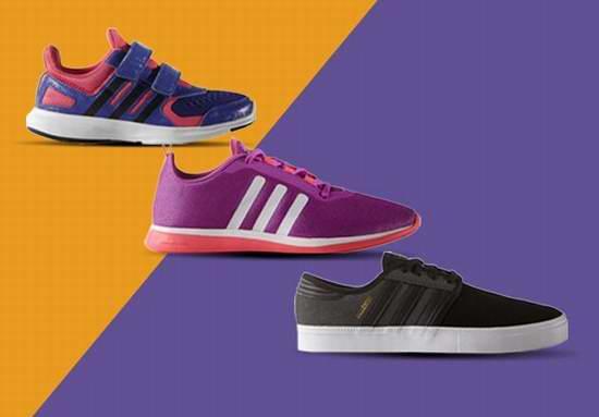 Adidas 精选5款成人儿童运动鞋30-45元限时抢购并包邮!
