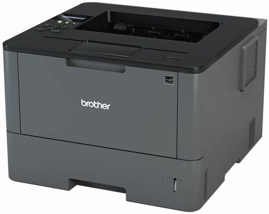 历史最低价!Brother HL-L5200DW 无线黑白激光打印机5折 149.91加元包邮!