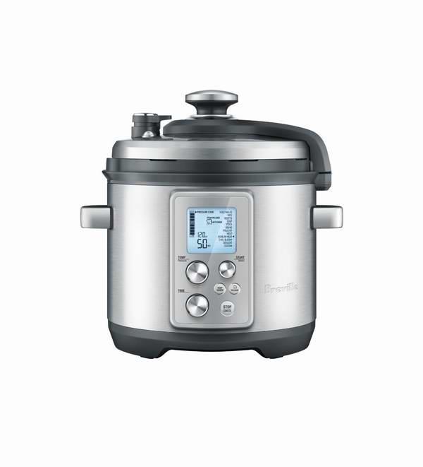 历史最低价!Breville BPR700BSS 多功能快慢智能压力烹饪锅6.7折 249.99元限时特卖并包邮!