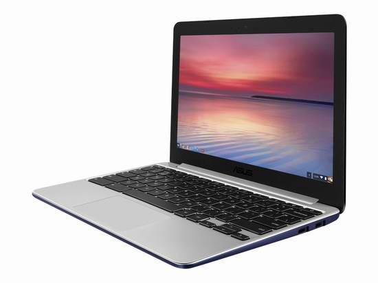 历史最低价!ASUS 华硕 Chromebook C201 11.6英寸谷歌笔记本电脑219.99元限时特卖并包邮!