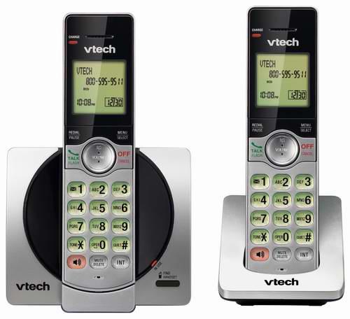 历史新低!VTech 伟易达 DECT 6.0 CS6919-2 无绳电话系统 28.99元限时特卖!