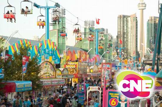 2016加拿大国家展览会(CNE)8月19日闪亮登场!提前预定门票或通票6折起!5-13岁儿童免费购票,4岁以下免票!8月30日17岁以下青少年门票6元!