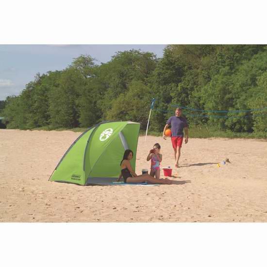 历史最低价!Coleman Road Trip 沙滩遮阳帐篷/可封闭更衣室 7折 52.23元限时特卖并包邮!