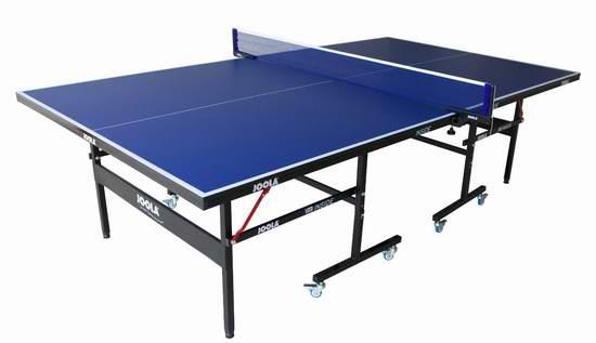 最畅销款 JOOLA 德国优拉 Inside 折叠式乒乓球桌5.2折 336元限时特卖并包邮!