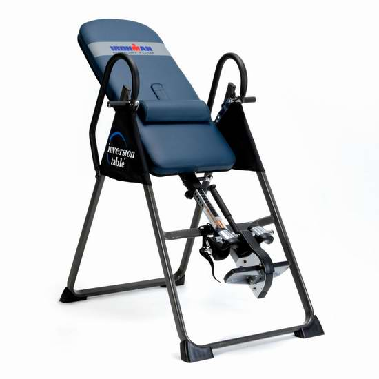 缓解背痛颈痛、舒缓压力疲劳神器!Ironman 5402 Gravity 4000 可折叠倒立机5.5折 215.99元限时特卖并包邮!