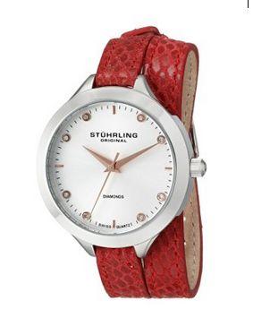 历史最低价!Stuhrling Original 624.02 女式时尚钻石腕表2.2折 45.43元限时清仓并包邮!