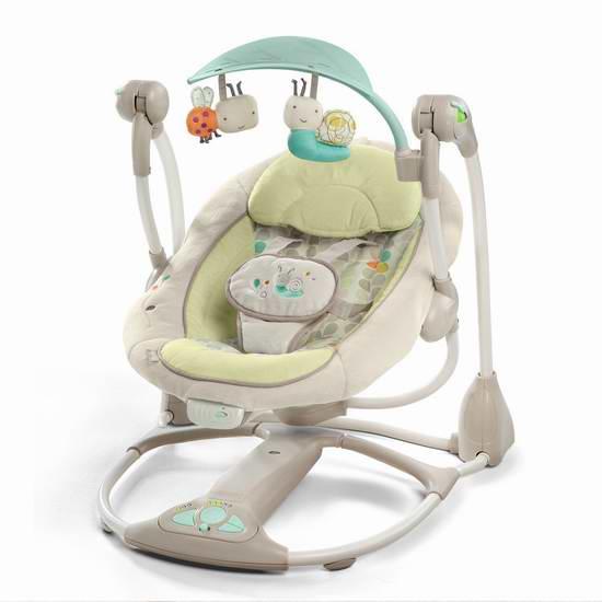 历史新低!Ingenuity Convertme 婴儿摇篮5.8折 69.97元限时特卖并包邮!