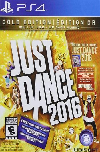历史最低价!Just Dance 2016 黄金版(PS4、Xbox One)4折 23.99元限时特卖!送价值14.99美元Just Dance Unlimited三个月订阅!