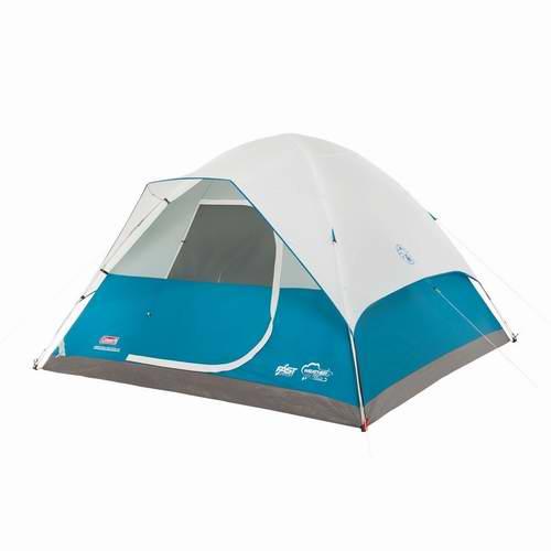 历史新低!网购周头条:Coleman Longs Peak 6人户外圆顶帐篷5.6折 117.27元限时特卖并包邮!