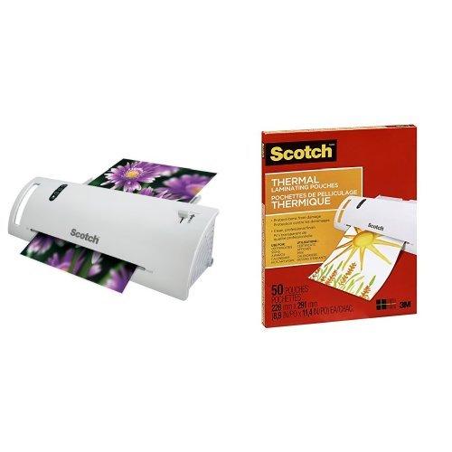 帮你封存美好记忆!Scotch Thermal Laminator 家用塑封机3.7折 14.99元限时特卖!50组塑封膜6.2折 8.96元!