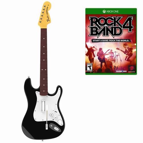 历史最低价!《Rock Band 摇滚乐队4》(PS4、Xbox One)+无线吉他套装2.6折 47.99元清仓并包邮!