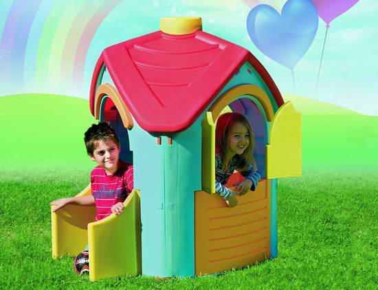 历史新低!Tot's Play Villa 儿童玩具屋3.2折 73.48元限时清仓并包邮!