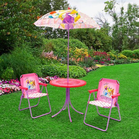 精选12款室内/室外儿童桌椅套装、椅子4-5折清仓,售价低至2元!