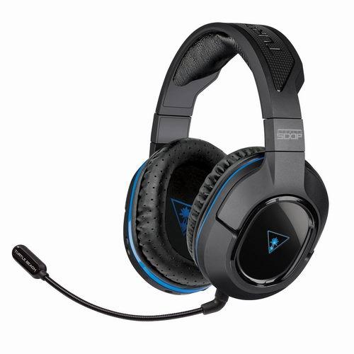 历史最低价!Turtle Beach 乌龟海岸 500P 7.1声道环绕立体声无线头戴式耳机超低价3.1折 45.99元清仓并包邮!兼容手机、PC、笔记本、平板、PS3、PS4等多平台!